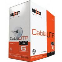 NEXXT Cable red  4 Pares CAT6  Gris 303M AB356NXT01
