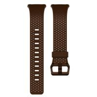 Fitbit Band Ionic Leather L Cognac
