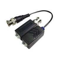 Video Balun HD PASIVO terminal de cable BNC (El Par)